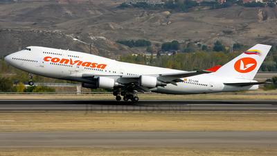 EC-LNA - Boeing 747-446 - Conviasa (Wamos Air)