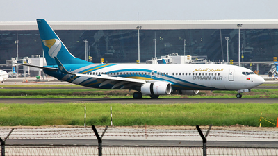 A picture of A4OBU - Boeing 73781M - Oman Air - © Fauzan Rasyadi