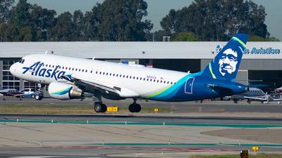 A picture of N842VA - Airbus A320214 - Alaska Airlines - © Taxi_Way_