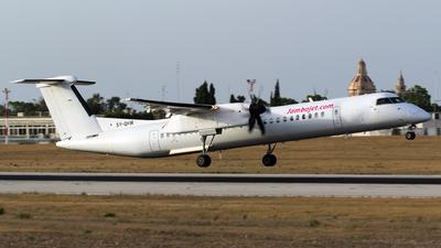 A picture of 5YQHW - De Havilland Canada Dash 8400 - [4052] - © Melvin Debono