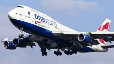 G-CIVL - Boeing 747-436 - British Airways