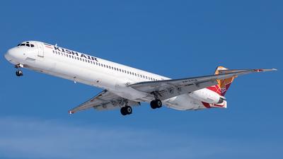 A picture of EPLCJ - McDonnell Douglas MD82 - Kish Air - © Mehdi Piltan