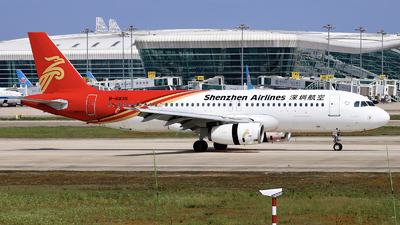A picture of B6835 - Airbus A320232 - Shenzhen Airlines - © nibrage