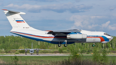 RF-76827 - Ilyushin IL-76MD - Ministry of Interior