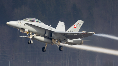 J-5234 - McDonnell Douglas F/A-18D Hornet - Switzerland - Air Force