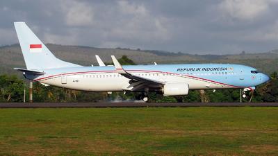 A-001 - Boeing 737-8U3(BBJ2) - Indonesia - Government