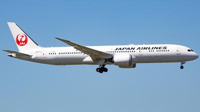 JA877J - Boeing 787-9 Dreamliner - Japan Airlines (JAL)