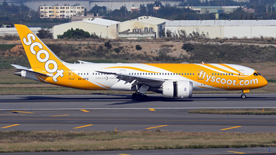A picture of 9VOFD - Boeing 7878 Dreamliner - Scoot - © ECHO