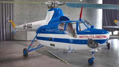 SP-SAD - PZL-Swidnik SM-1W - Instytut Lotnictwa