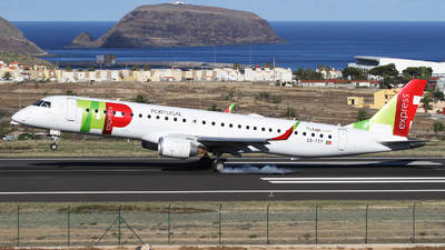 CS-TTY - Embraer 190-200IGW - TAP Express