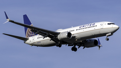 A picture of N17229 - Boeing 737824 - United Airlines - © kennedyspotting