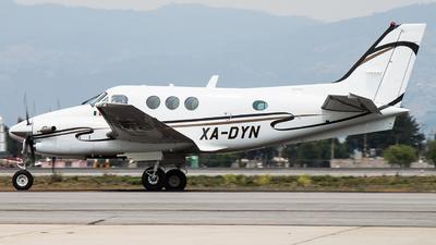 XA-DYN - Beechcraft C90A King Air - Private