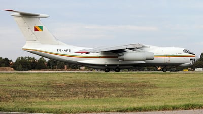TN-AFS - Ilyushin IL-76 - Congo - Government