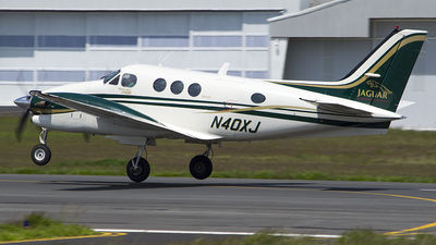 N40XJ - Beechcraft C90A King Air - Private
