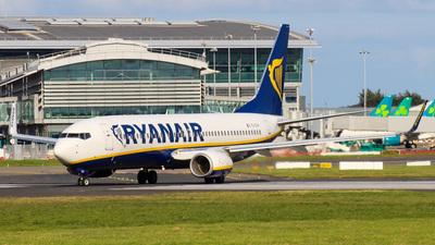 A picture of EIEVH - Boeing 7378AS - Ryanair - © Ben Carroll