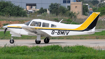 G-BMIV - Piper PA-28R-201T Turbo Cherokee Arrow III - Private
