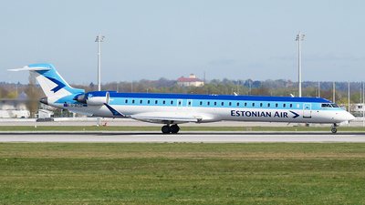 ES-ACD - Bombardier CRJ-900 - Estonian Air