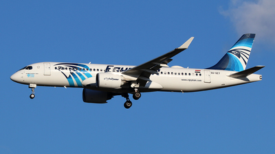 A picture of SUGEY - Airbus A220300 - EgyptAir - © Ferenc Kolos