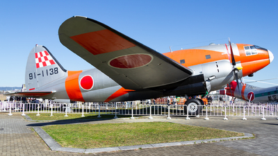 91-1138 - Curtiss C-46 Commando - Japan - Air Self Defence Force (JASDF)