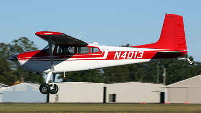 N4013 - Cessna 180J Skywagon - Private
