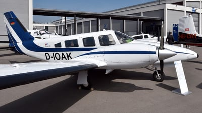 D-IOAK - Piper PA-34-200T Seneca II - Private