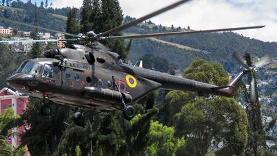 AEE-487 - Mil Mi-171E - Ecuador - Army