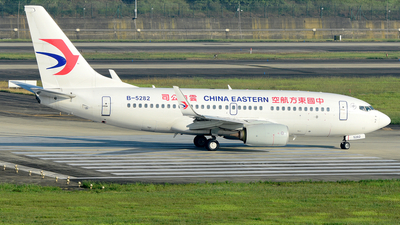 B-5282 - Boeing 737-79P - China Eastern Airlines