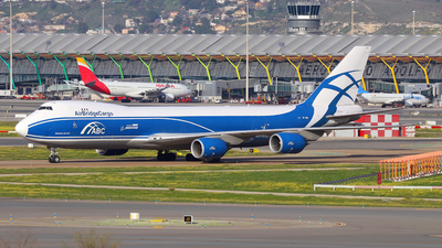VP-BIN - Boeing 747-83QF - Air Bridge Cargo