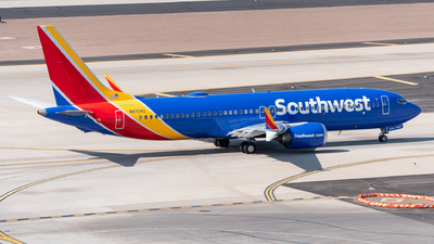 A picture of N8704Q - Boeing 737 MAX 8 - Southwest Airlines - © Jake  Sevigny