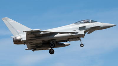 A picture of ZK309 - Eurofighter Typhoon FGR4 -  - © Frankie A Said