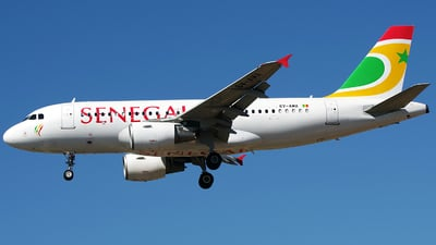 6V-AMA - Airbus A319-112 - Air Senegal