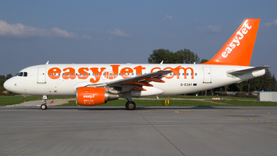 A picture of GEZAY - Airbus A319111 - easyJet - © Łukasz Stawiarz