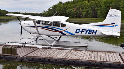 C-FYEH - Cessna 185B Skywagon - Lake Country Airways
