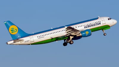 A picture of UK32017 - Airbus A320214 - Uzbekistan Airways - © ArCher