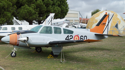 E.20-1 - Beechcraft 95-B55 Baron - Spain - Air Force