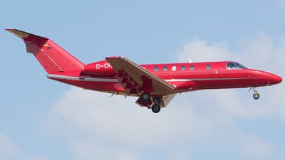 D-CHRA - Cessna 525C CitationJet 4 - Hahn Air