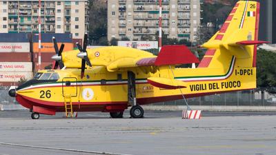 I-DPCI - Canadair CL-415 - Italy - Vigili del Fuoco