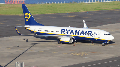 A picture of EIGXK - Boeing 7378AS - Ryanair - © Torres Pode Ser