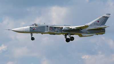 RF-93809 - Sukhoi Su-24M Fencer - Russia - Air Force