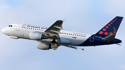 OO-SSN - Airbus A319-112 - Brussels Airlines