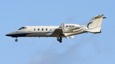 M-YCYS - Bombardier Learjet 60 - Private
