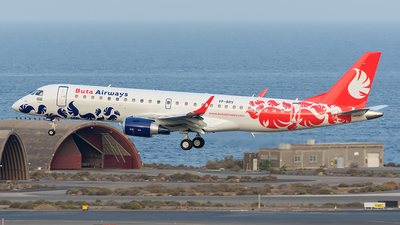 VP-BRV - Embraer 190-100LR - Buta Airways