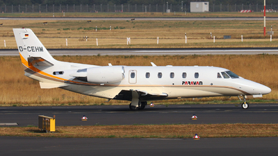 D-CEHM - Cessna 560XL Citation XLS Plus - Silver Cloud Air