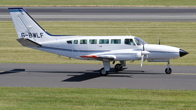 A picture of GBWLF - Cessna 404 Titan -  - © Ian Howat