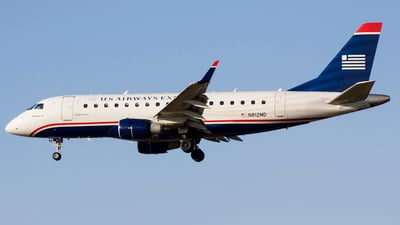 N812MD - Embraer 170-100SU - US Airways Express (Republic Airlines)