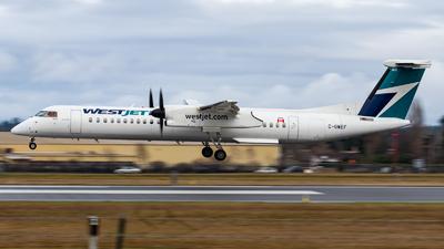 A picture of CGWEF - De Havilland Canada Dash 8400 - WestJet - © Grant Gladych