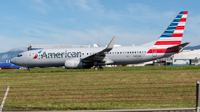 A picture of N955NN - Boeing 737823 - American Airlines - © Cristian Quijano
