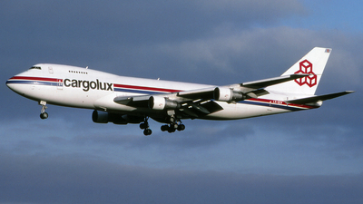 LX-DCV - Boeing 747-228F(SCD) - Cargolux Airlines International