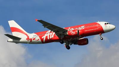 PK-AXU - Airbus A320-216 - Indonesia AirAsia