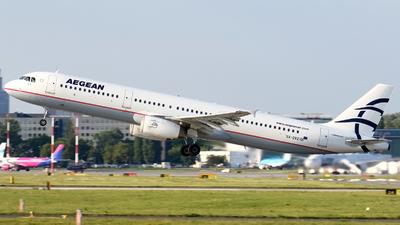 SX-DVZ - Airbus A321-231 - Aegean Airlines